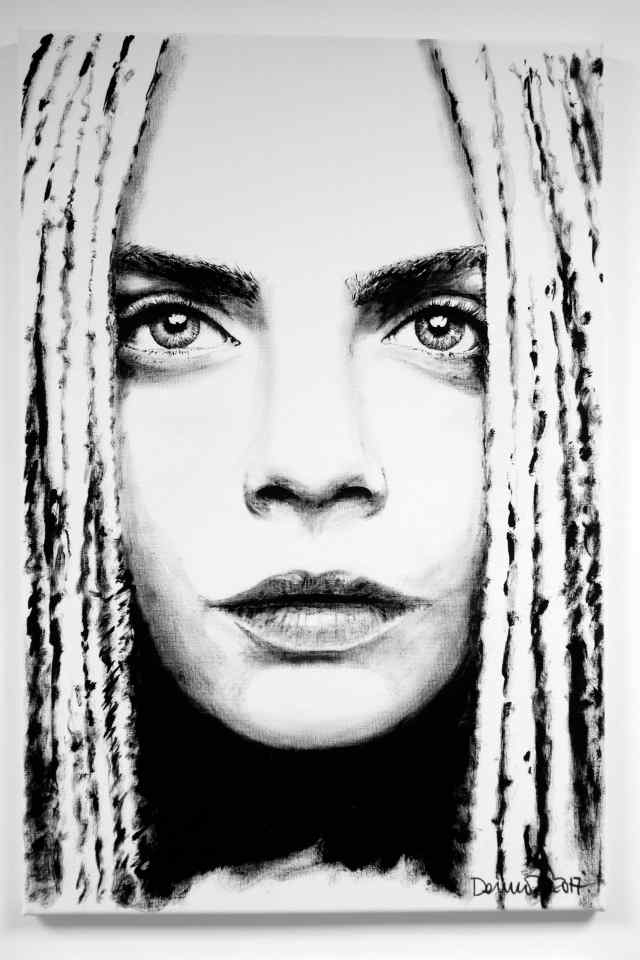 Cara Delevigne (Dreadlocks)