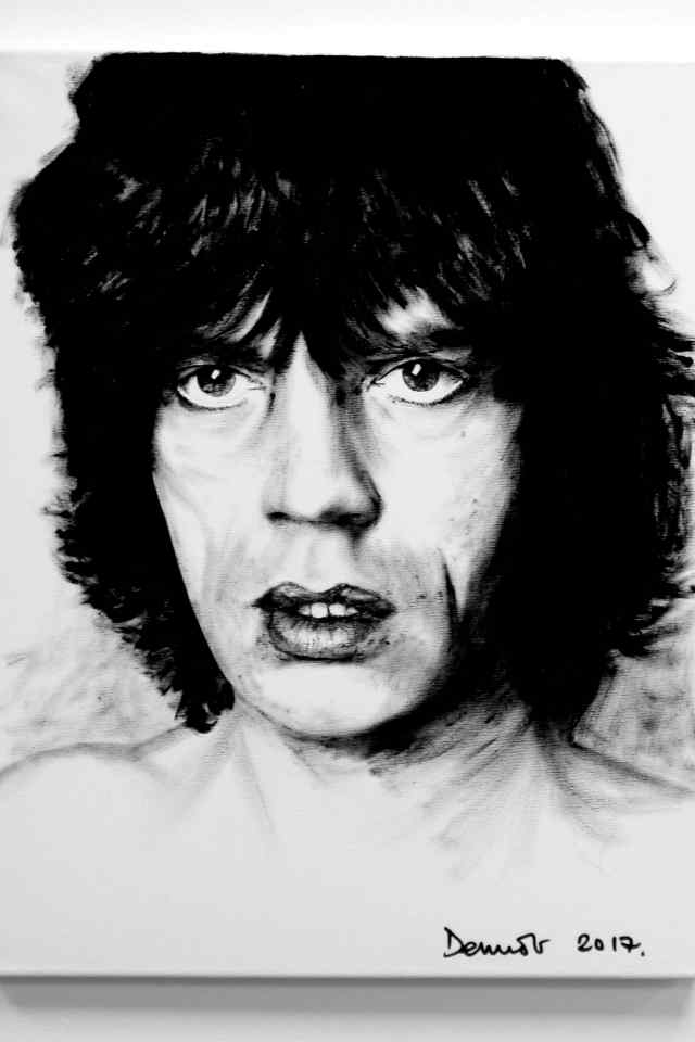 Mick Jagger (Young)
